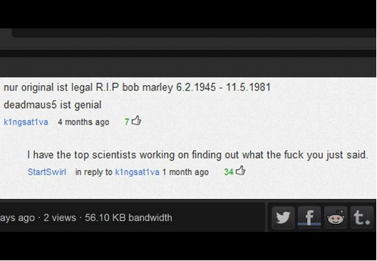 Most Hilarious YouTube Comments-Most Hilarious YouTube Comments