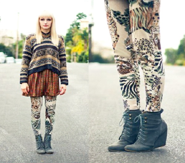 Stretchies and Ankle Boots-Best Hipster Style