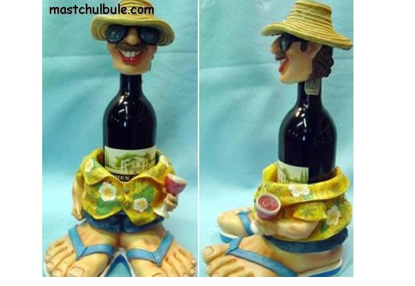 Cheerful Decor Addition-Creative Bottle Holders