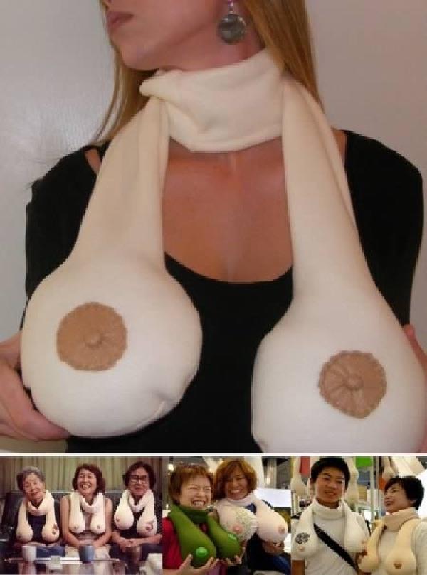 Boobs-Insane Scarves