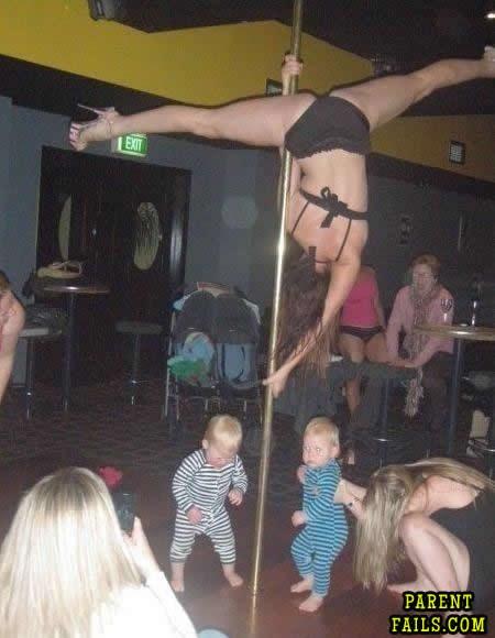Is it a kids club?-Strip Club Fails