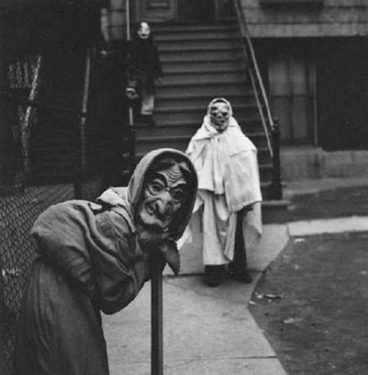 Creepy Times Three-Most Terrifying Vintage Halloween Costumes Ever