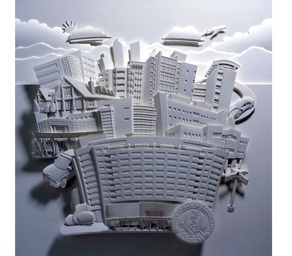 City LIfe-Most Amazing Paper Sculptures