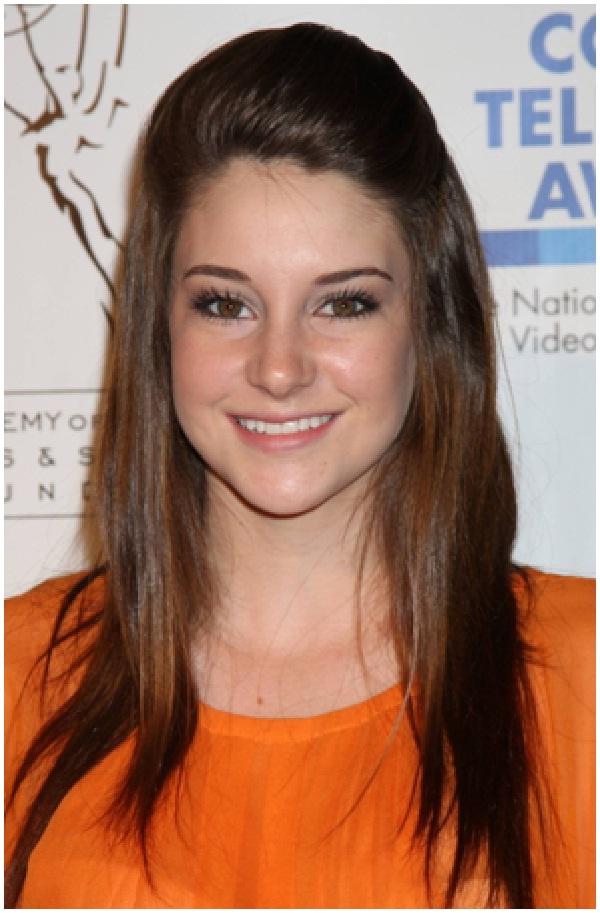 Shailene Woodley-Celebrities Who Don't Wear Makeup