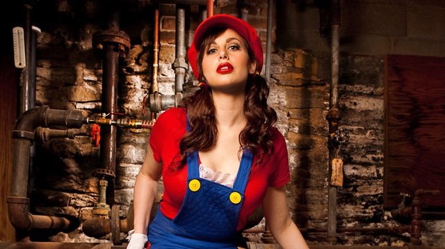 Oh my-Hot Girls In Mario Cosplays
