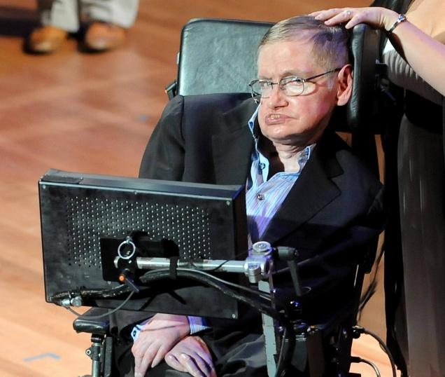 Stephen Hawking-Amazing People With Physical Disabilities