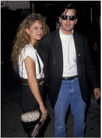 Charlie Sheen and Kelly Preston-Charlie Sheen And His 13 Well Known Girlfriends