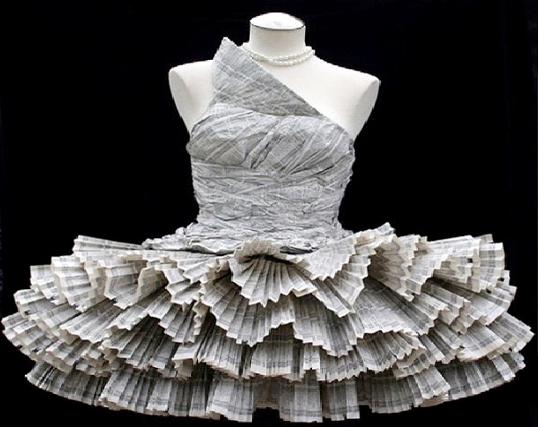 Phonebook Dress-Weirdest Dresses