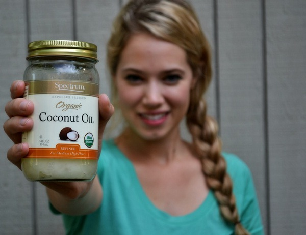 Coconut Oil-Simple Home Remedies For Hair Fall