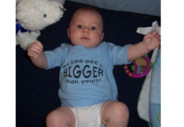 Could This Be True?-Funny Baby T-shirt Texts And Images