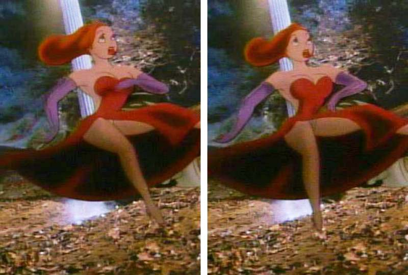 Jessica Rabbit's Undergarment Shot-15 Images That Will Ruin Your Childhood Forever