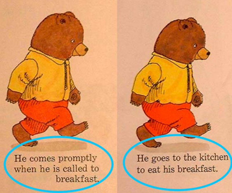Better Choice Of Words-10 Changes To Children Books That Depict Changes In Our Society