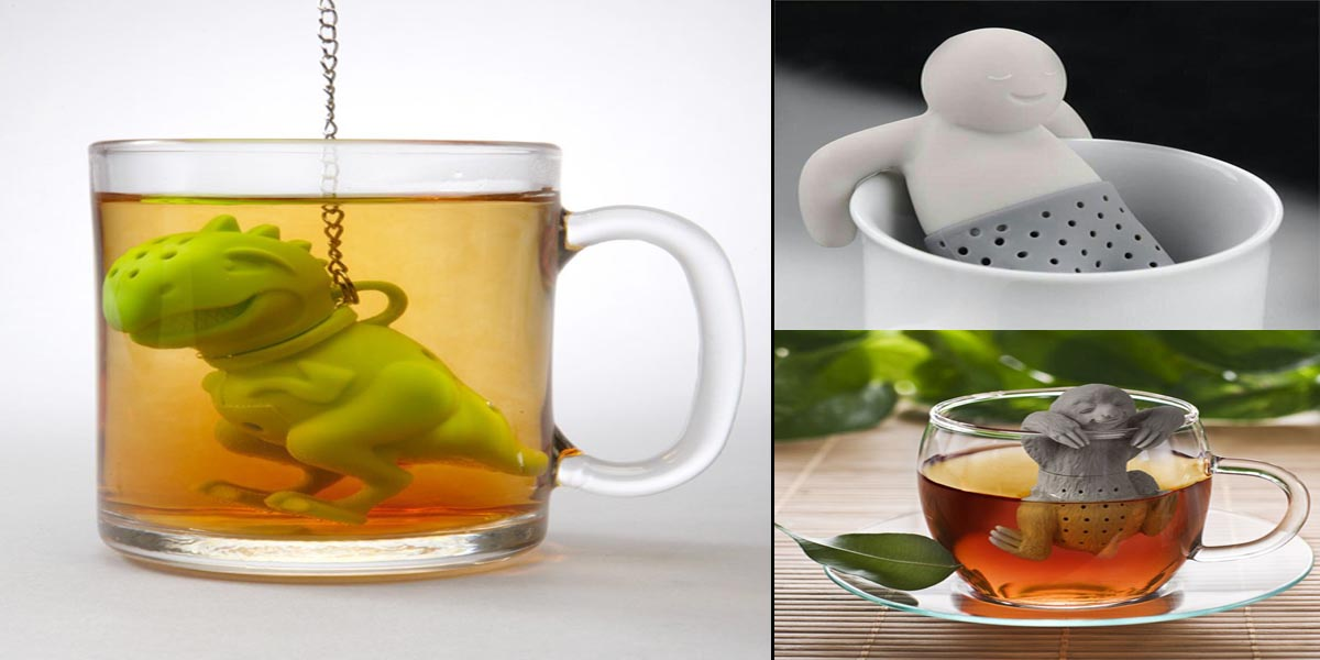 15 Tea Infusers those are Amazingly Adorable