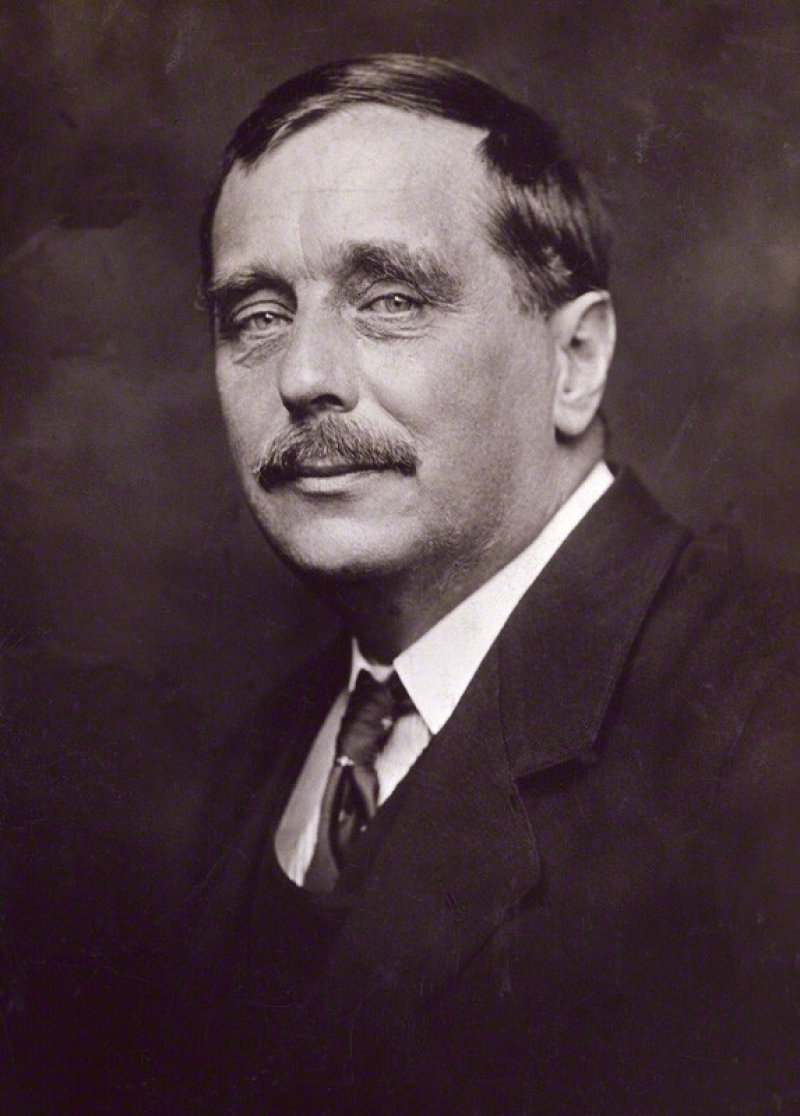 H.G. Wells-15 Famous Personalities Who Married Their Family Members