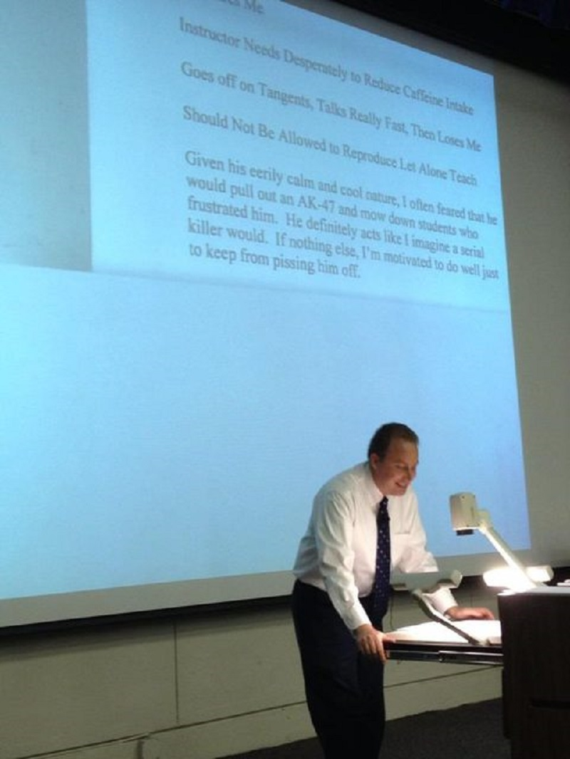 Professors Reads out His Own Student Reviews -15 Awesome Professors That Everyone Wishes To Have