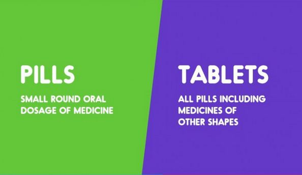 Pills vs. Tablets-15 Words That Sound Similar But Have Different Meaning