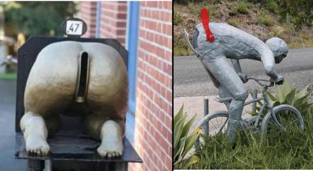 15 Weirdest Yet Hilarious Mailboxes You'll Ever See