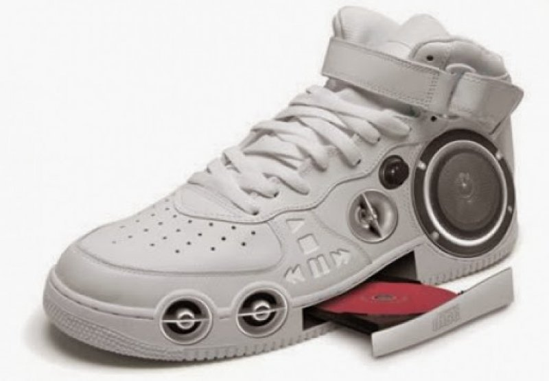 Gangster CD Stereo Sneaker-36 Strangest Gadgets That You Can Buy