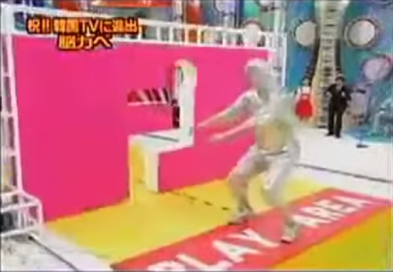 This Human Tetris Game-15 Weirdest Game Shows From Japan