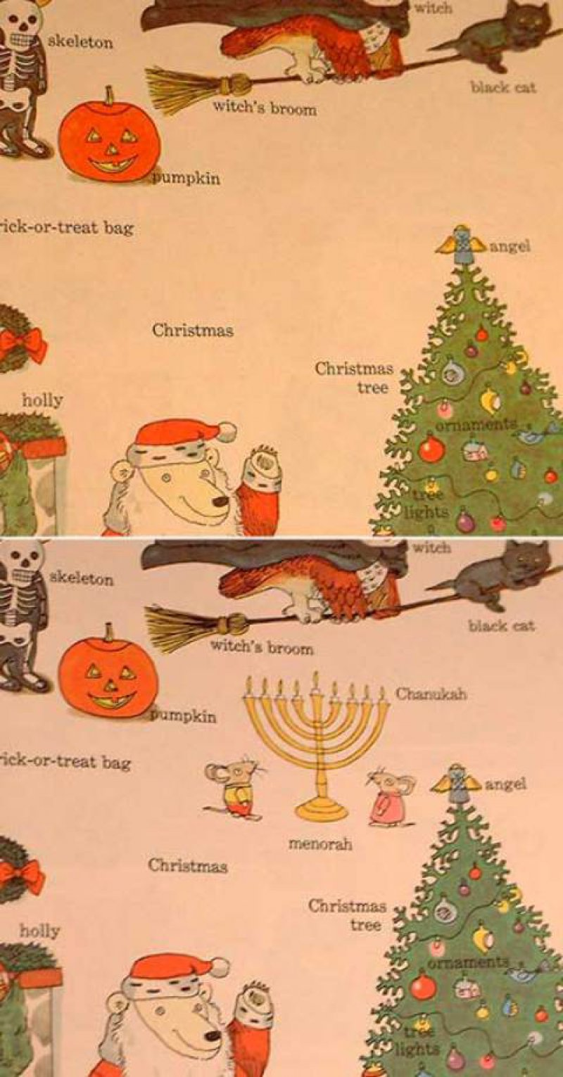 The Addition Of Hanukkah Menorah-10 Changes To Children Books That Depict Changes In Our Society