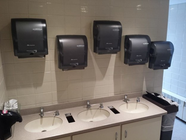 The Chronicles of Five Paper Towel Dispensers-15 Disturbing Images You Never Want To See