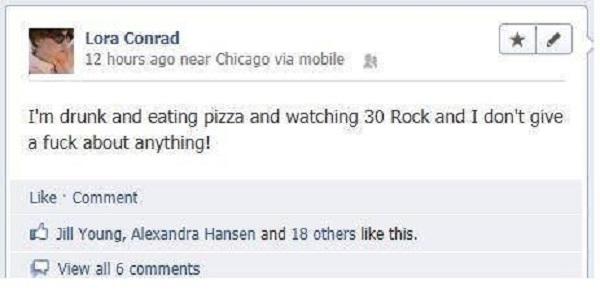 Way to Go-15 Hilarious Facebook Drunk Posts