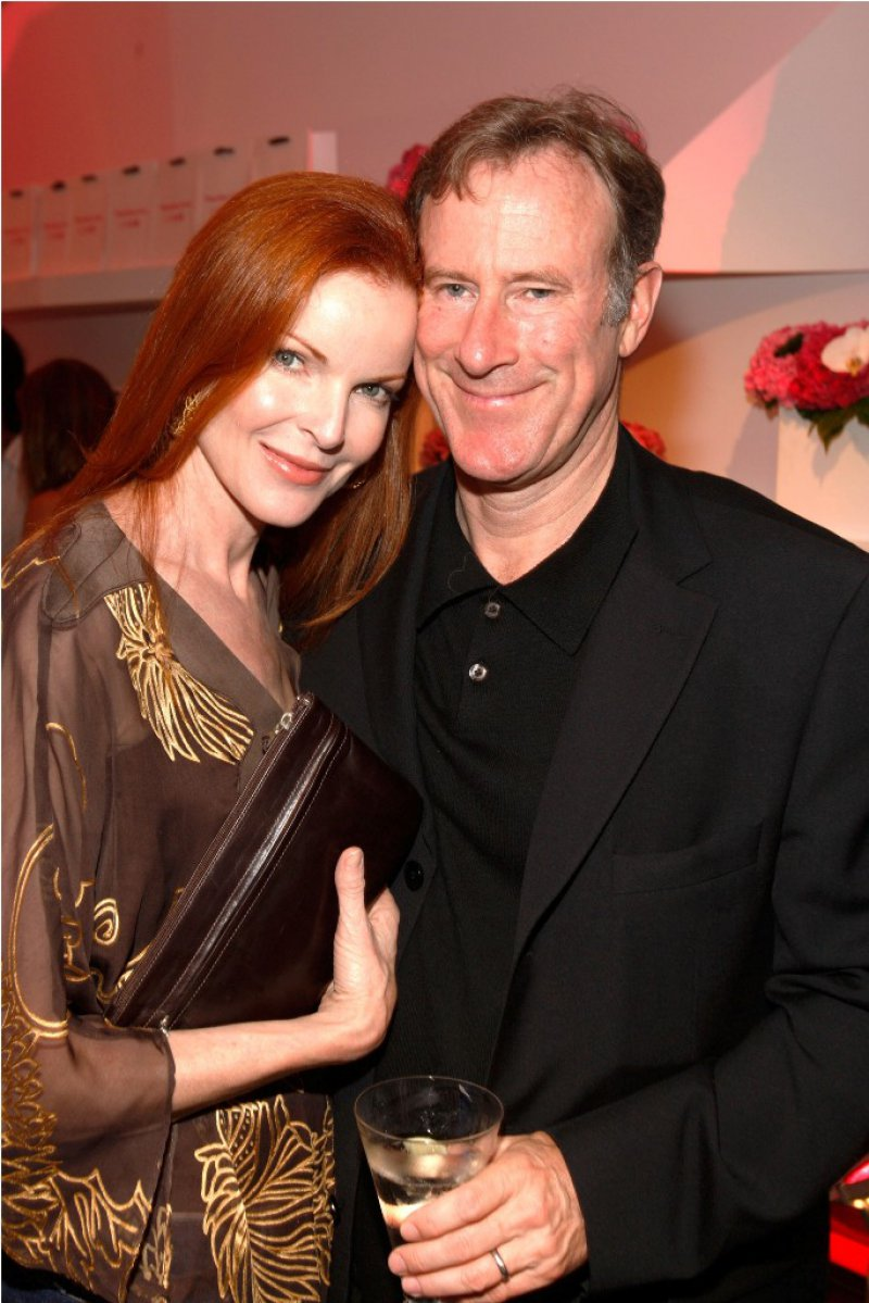 Marcia Cross And Tom Mahoney-12 Celebrities Who Married Normal People