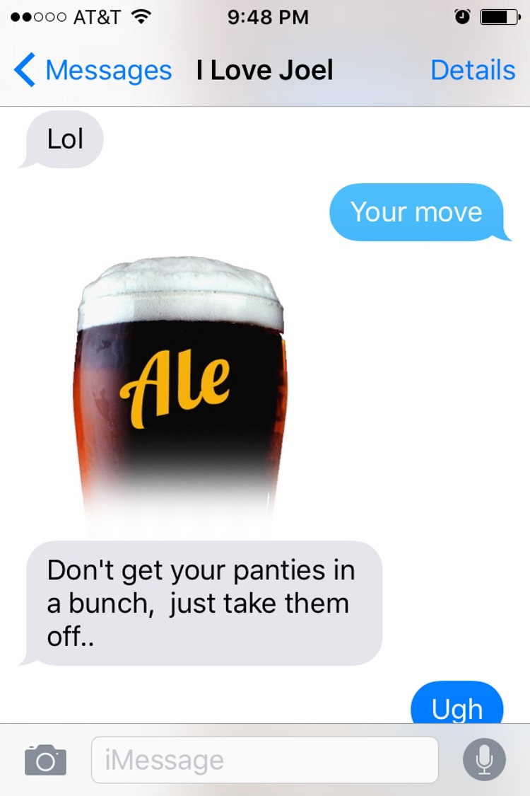 Railed it-15 Hilarious Images Of A Couple's Pun Texting