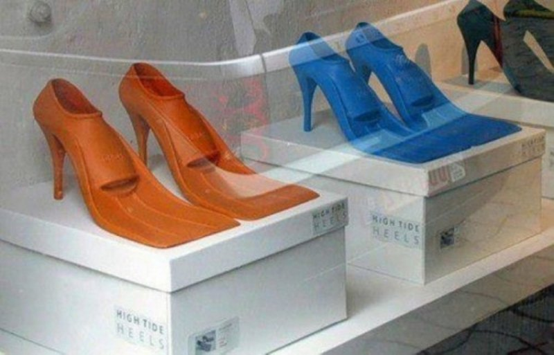 High Tide Heels-36 Strangest Gadgets That You Can Buy