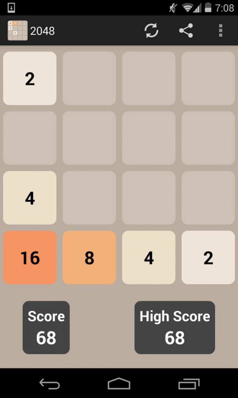 2048 Number Puzzle Game-12 Best Puzzle Games For Android And IOS