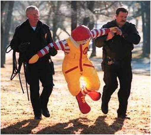Ronald McDonald Arrested for His Behavior-Sad Reality Of Ronald McDonald