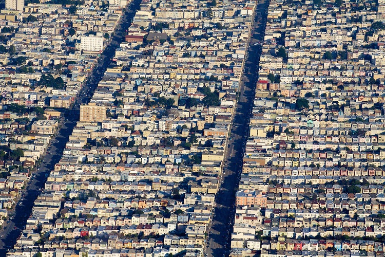 San Francisco-How Our World Appears To A Bird