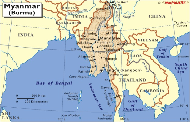 Burma-Craziest Laws Around The World