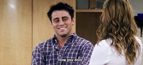 We learnt how to flirt from Joey-Why We Loved Friends So Much