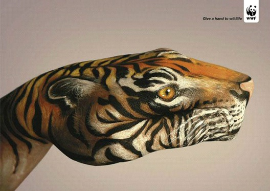 Tigers Are Made Of Flash And Bone-24 Creative WWF Ads