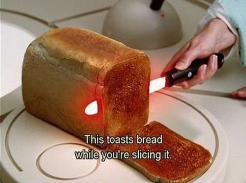 Bread Toaster Knife-15 Awesome Innovations That Simplify Everyday Life