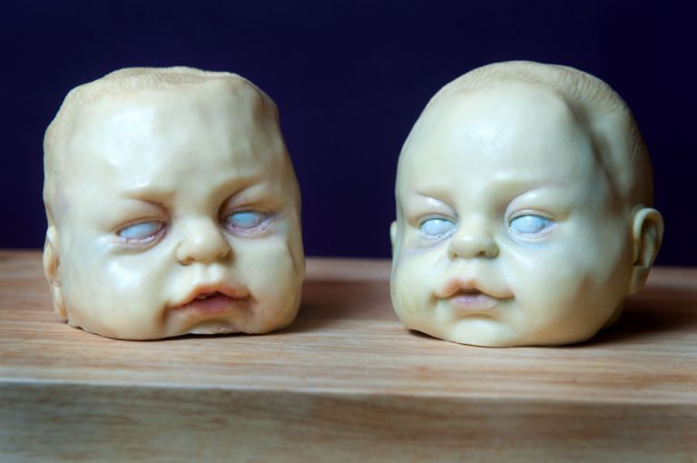 These Creepy Baby Head Chocolates-15 Most Inappropriate Products Ever Made
