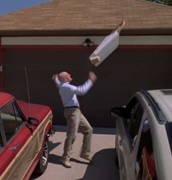 The pizza toss-Things You Didn't Know About Breaking Bad