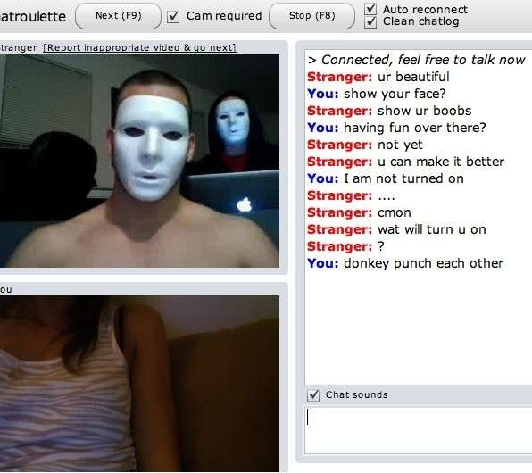 24 Hilarious Chatroulette Chats That Will Make You Laugh