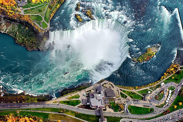 Niagara Falls-How Our World Appears To A Bird