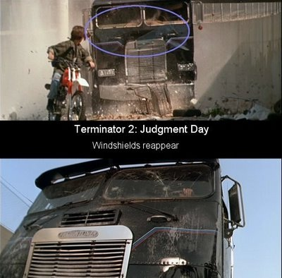 Magic windshields-24 Movie Mistakes You Never Noticed