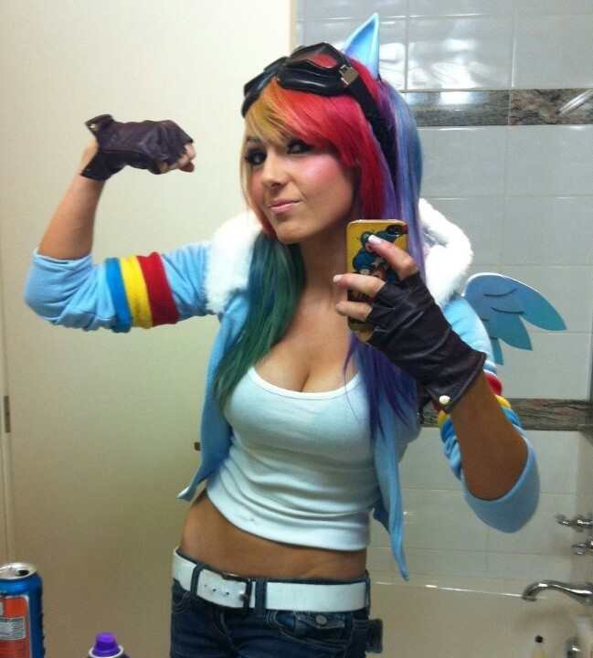 Rainbow Dash-24 Best Jessica Nigri Cosplays Ever