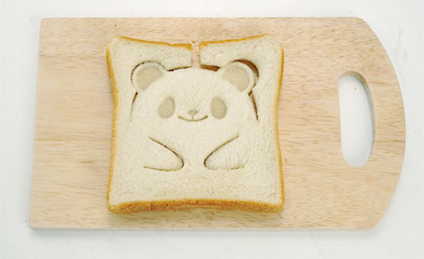 Panda Toast Stamp-15 Perfect Gift Ideas For Food Lovers