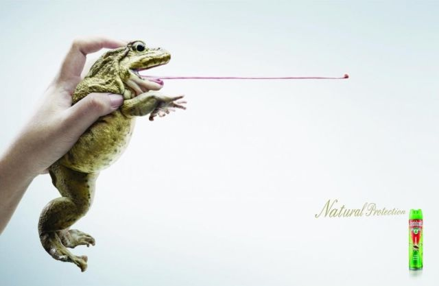 Get that tongue out-Most Creative Ads Ever