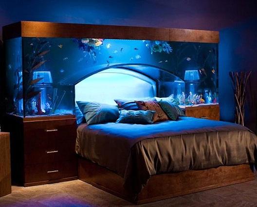 Aquarium Bed-Awesome Home Interior Designs Ever