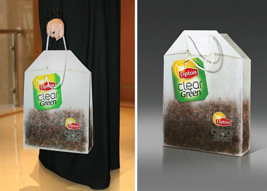 Lipton Tea-24 Most Creative Bag Ads
