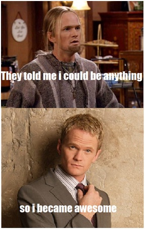 From Doogie to Star-Best 'They Said I Could Be Anything.' Memes
