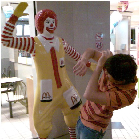 Ronald McDonald's Displaced Anger-Sad Reality Of Ronald McDonald