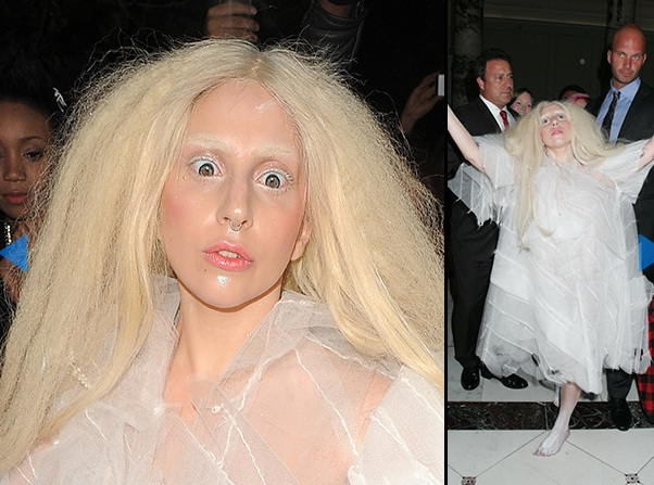 Scarier than usual-Worst Lady Gaga Outfits