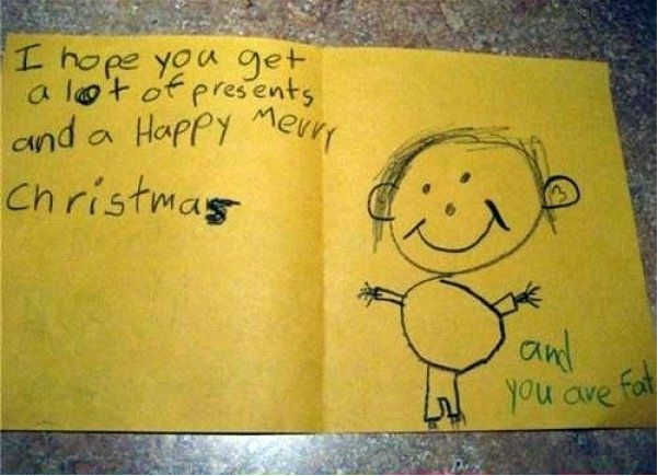 Very harsh indeed-Hilarious And Honest Notes From Kids